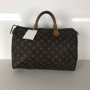 Louis Vuitton Speedy 35 Monogram Handbag 10728